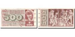 World Coins - Banknote, Switzerland, 500 Franken, 1968, 1968-05-15, KM:51f, EF(40-45)
