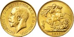 World Coins - Coin, Australia, George V, Sovereign, 1915, Sydney, , Gold, KM:29