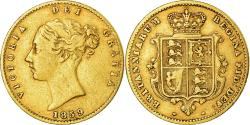 Ancient Coins - Coin, Great Britain, Victoria, 1/2 Sovereign, 1859, London, , Gold