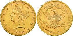 Us Coins - Coin, United States, Coronet Head, $10, Eagle, 1899, Philadelphia,