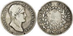 Ancient Coins - Coin, France, Napoléon I, 5 Francs, An 12, Toulouse, , Silver