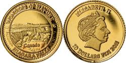 Ancient Coins - Coin, Fiji, Elizabeth II, Chutes du Niagara - Canada, 10 Dollars, 2011