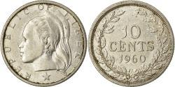 World Coins - Coin, Liberia, 10 Cents, 1960, , Silver, KM:15
