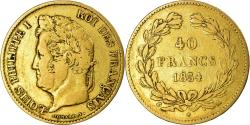 World Coins - Coin, France, Louis-Philippe, 40 Francs, 1834, Paris, , Gold, KM:747.1