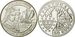 World Coins - France, 50 Euro, Filipa de Lencastre, 1996, , Silver
