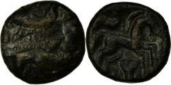 Ancient Coins - Coin, Ambiani, Bronze aux sanglier affrontés Æ, , Bronze, Delestrée:464