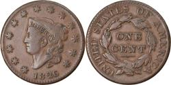 Us Coins - Coin, United States, Coronet Cent, Cent, 1826, U.S. Mint, Philadelphia