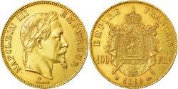 World Coins - Coin, France, Napoleon III, Napoléon III, 100 Francs, 1869, Strasbourg