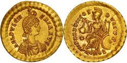 Aelia Pulcheria, Augusta, Solidus, Constantinople, , Gold, RIC:295