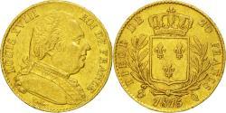 Ancient Coins - Coin, France, Louis XVIII, 20 Francs, 1815, Perpignan, AU(50-53), KM 706.5