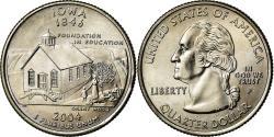 Us Coins - Coin, United States, Iowa, Quarter, 2004, U.S. Mint, Philadelphia,