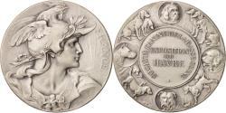 World Coins - France, Medal, VIlle du Havre, Société canine de la Basse-Seine, Sports &