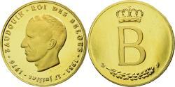 World Coins - Belgium, Medal, Baudouin - 25 ans de Règne, 1976, , Gold
