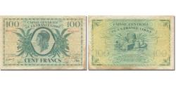 French Equatorial Africa, 100 Francs, Marianne, VF(20-25), KM:13a