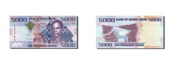 World Coins - Sierra Leone, 5000 Leones, 2010, 2010-04-27, KM:32, UNC(65-70)