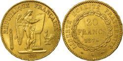 World Coins - Coin, France, Génie, 20 Francs, 1875, Paris, , Gold, KM:825
