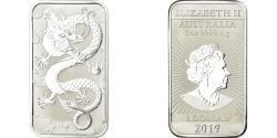 World Coins - Coin, Australia, Dragon chinois, Dollar, 2019, Royal Australian Mint, Proof