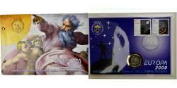 World Coins - Vatican, 2 Euro, Année internationale de l'Astronomie, 2009, Enveloppe