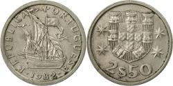 World Coins - Coin, Portugal, 2-1/2 Escudos, 1982, , Copper-nickel, KM:590