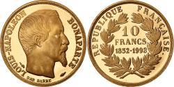 World Coins - France, Medal, Louis-Napoléon Bonaparte, 10 Francs, 1993, , Gold