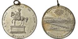 World Coins - Switzerland, Medal, G.H. Dufour, Général, Genève, 1884, Chaval,