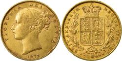 Ancient Coins - Coin, Great Britain, Victoria, Sovereign, 1872, , Gold, KM:736.2