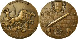 World Coins - France, Medal, Seconde Guerre Mondiale, Victoire de Normandie, 1944,