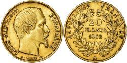 Ancient Coins - Coin, France, Napoleon III, Napoléon III, 20 Francs, 1852, Paris,