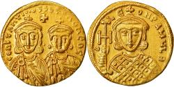 Coin, Constantine V and Leo IV, Solidus, Constantinople, , Gold