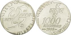 World Coins - Coin, Portugal, 1000 Escudos, 1999, , Silver, KM:715