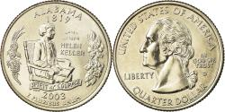 Us Coins - Coin, United States, Alabama, Quarter, 2003, U.S. Mint, Denver,