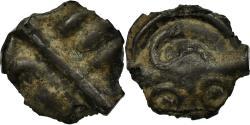 Ancient Coins - Coin, Aulerci Eburovices, Potin, , Potin, Delestrée:S535C