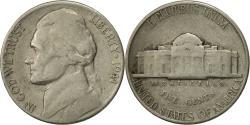 Us Coins - United States, Jefferson Nickel, 5 Cents, 1941, U.S. Mint, Philadelphia