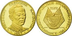 World Coins - Coin, Rwanda, 25 Francs, 1965, , Gold, KM:2