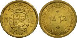 World Coins - Coin, Macau, 5 Avos, 1967, , Nickel-brass, KM:1a