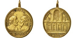 World Coins - Vatican, Medal, St Peter and Paulus, Religions & beliefs, XVIIIth Century