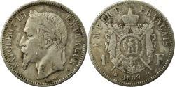World Coins - Coin, France, Napoleon III, Napoléon III, Franc, 1869, Paris,
