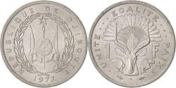 World Coins - Djibouti, Franc, 1977, Paris, , Aluminum, KM:20