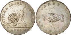 World Coins - Coin, Sierra Leone, Penny, 1791, , Bronze, KM:2.1
