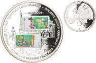 World Coins - France, Medal, Adieu à la Monnaie Française, 500 Francs Marie Curie, 2001