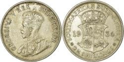 World Coins - Coin, South Africa, George V, 2-1/2 Shillings, 1936, , Silver, KM:19.3