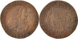 World Coins - Netherlands, Token, Belgium, Charles II, Bruxelles, Bureau des Finances, 1681