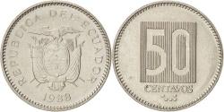 World Coins - Ecuador, 50 Centavos, Cincuenta, 1988, KM:90, , Nickel Clad Steel