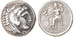 Ancient Coins - Coin, Kingdom of Macedonia, Alexander III, Tetradrachm, 323-317 BC, Amphipolis