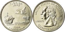 Us Coins - Coin, United States, Florida, Quarter, 2004, U.S. Mint, Denver,