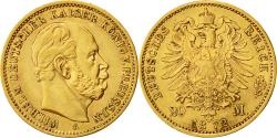 Ancient Coins - Coin, German States, PRUSSIA, Wilhelm I, 20 Mark, 1872, Berlin, AU(50-53), Gold