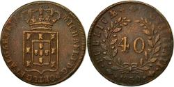 World Coins - Coin, Portugal, Miguel, 40 Reis, Pataco, 1830, , Bronze, KM:391