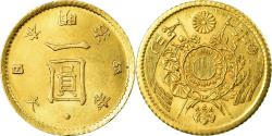 World Coins - Coin, Japan, Mutsuhito, Yen, 1871, , Gold, KM:9