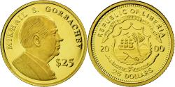 World Coins - Coin, Liberia, 25 Dollars, 2000, American Mint, , Gold, KM:630