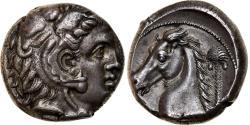 Ancient Coins - Coin, Sicily, Siculo-Punic, Tetradrachm, 300-289 BC, Entella, , Silver